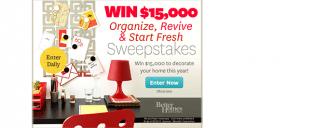 bhg.com/winreorganize – Better Homes & Gardens Sweepstakes