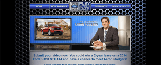 myplayoftheday.com – Built Ford Tough Play of the Day Contest