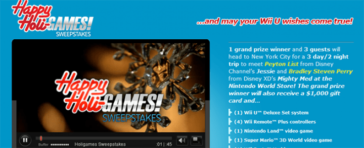 happy holi games sweepstakes