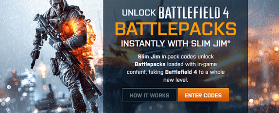 slimjim.com/battlefield4 – Slim Jim Battlefield 4 Instant Win Sweepstakes