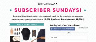 birchbox promotion