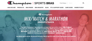 champion sports bras sweepstakes