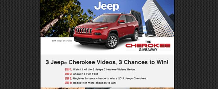 cherokee giveaway