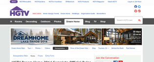 hgtv.com – HGTV Dream Home Giveaway