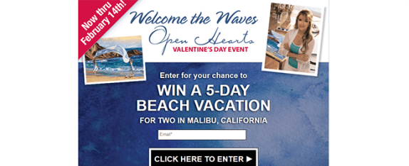 kayopenheartsevent.com – Open Hearts Valentine's Day Event Sweepstakes