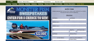 monster fish sweepstakes