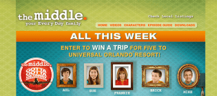 the middle sweepstakes