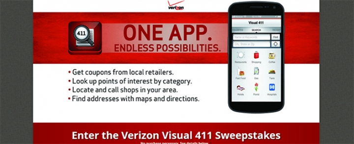 verizon sweepstakes