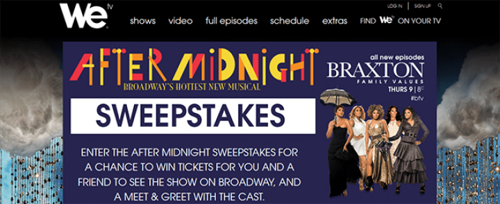 after midnight sweepstakes