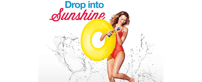 facebook.com/Dasani – Drop Into Sunshine Sweepstakes