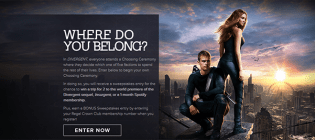 divergent sweepstakes