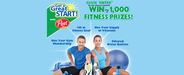 post fitness sweepstakes