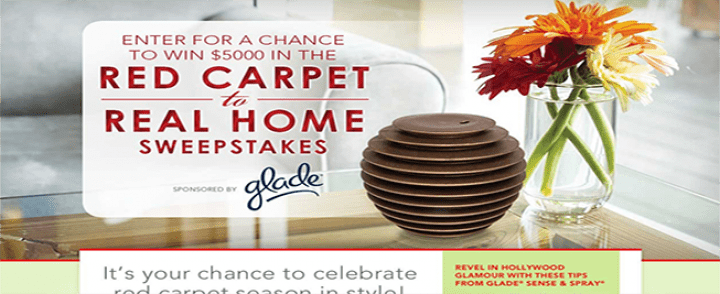 red carpet real home sweepstakes