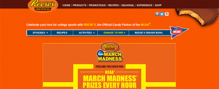 goreeses.com – REESE'S NCAA March Madness Make the Crowd Go Wild