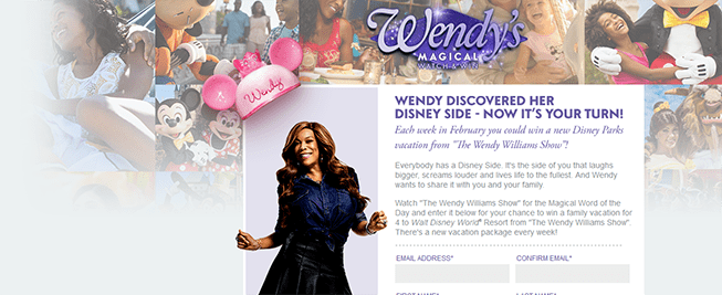 wendysmagicalwatchandwin.com – Wendy's Magical Watch and Win Sweepstakes