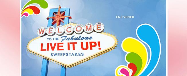 glade.com/LiveItUp – Glade Live It Up Sweepstakes