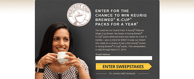 perfectcupsweeps.com – Green Mountain Coffee The Perfect Cup Sweepstakes