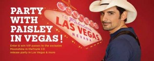 Brad Paisley Flyaway Sweepstakes CD Release Party