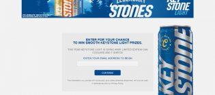 Keystone Light Keystone Ice Orange Can Hunt Sweepstakes