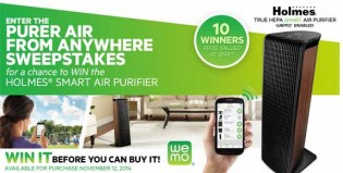 Holmes Products Purer Air from Anywhere Sweepstakes