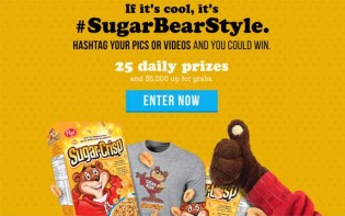 #SugarBearStyle – The Sugar Crisp Can't Get Enough Contest