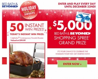 Holiday Your Way Sweeps