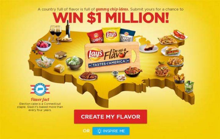 dousaflavor.com – LAY'S Do Us A Flavor Tastes of America Contest