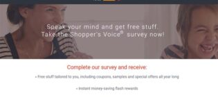 Shopper's Voice Speak Up to Win Contest