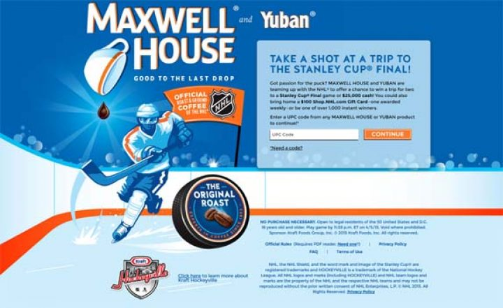 maxwell-house-hockey-sweepstakes