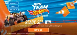 Hot Wheels Join Team Hot Wheels Sweepstakes