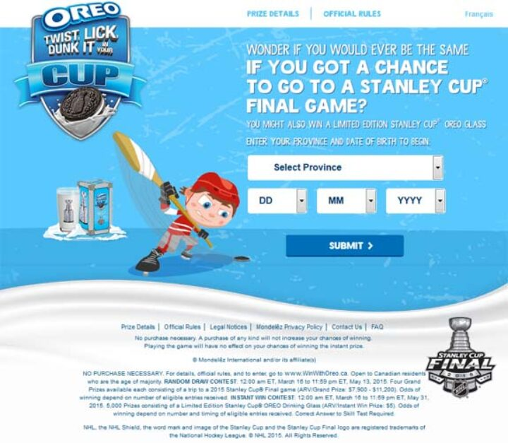 oreo stanley cup