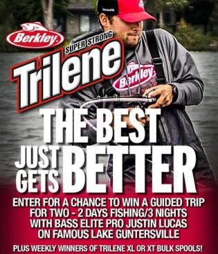 Best Just Gets Better Berkley Trilene Sweepstakes