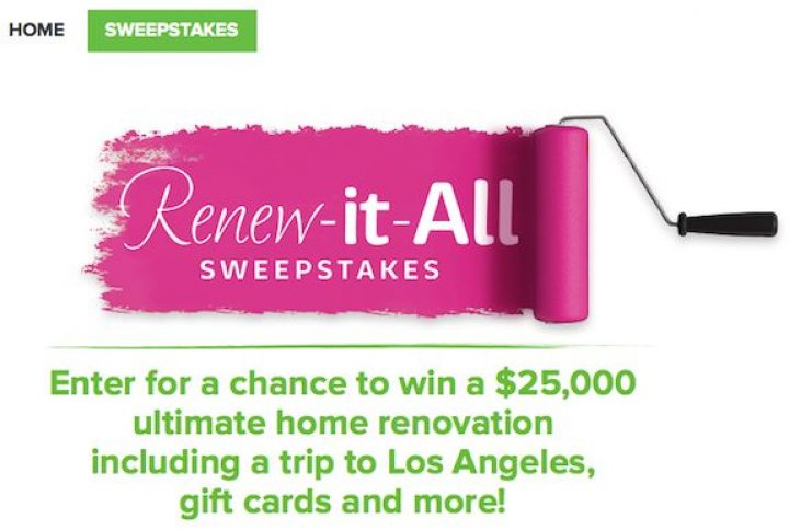 renew it all sweepstakes