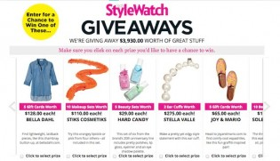 StyleWatch Giveaways June Sweepstakes