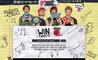5 Seconds of Summer Back to School Promotion