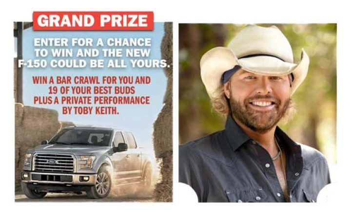 f 150 toby keith