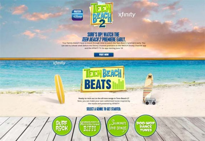 teen beach beats