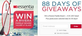 88 days of giveaways