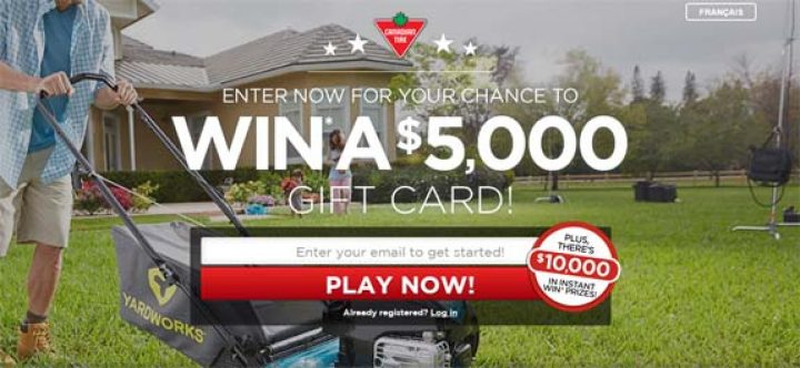 canadian tire gift card contest
