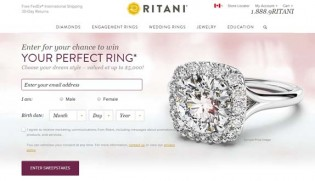 Ritani Engagement Ring Sweepstakes