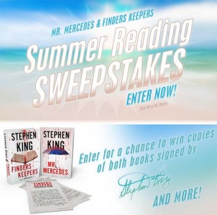 Stephen King Summer Reading Sweepstakes