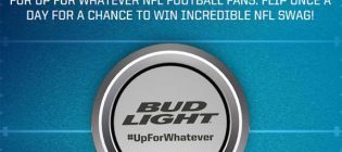 bud light coin toss