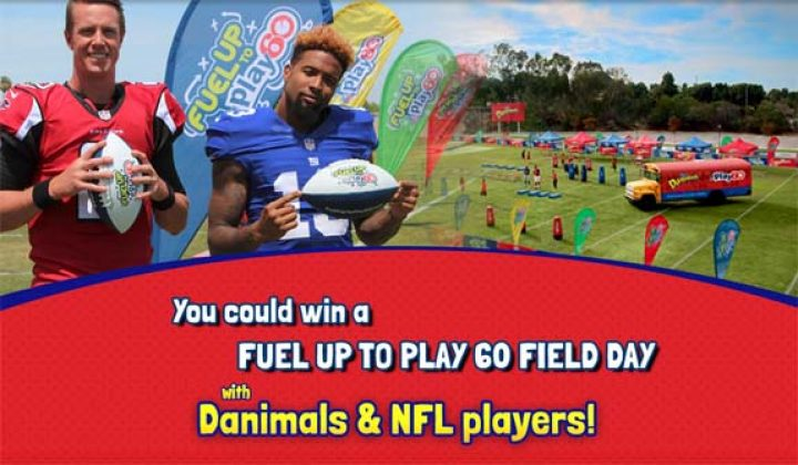 Dannon Danimals Fuel Up to Play 60 Instant Win Sweepstakes
