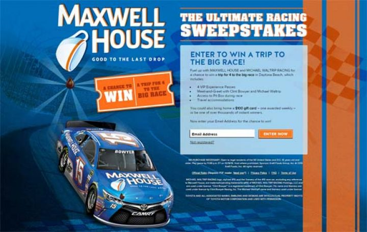 The Ultimate Racing Sweepstakes
