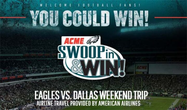 swoop in and win