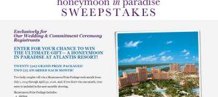 honeymoon in paradise