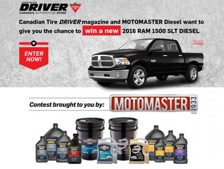motomaster driver contest