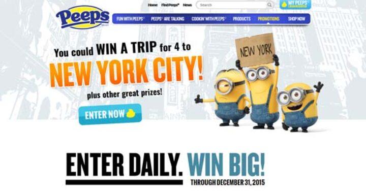 peeps new york city trip