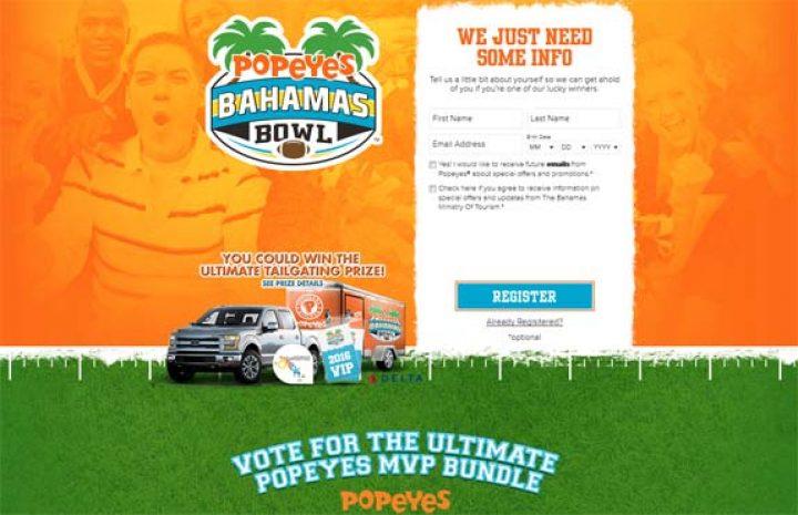 popeyes bahamas bowl