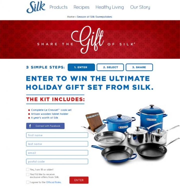 silk sweepstakes